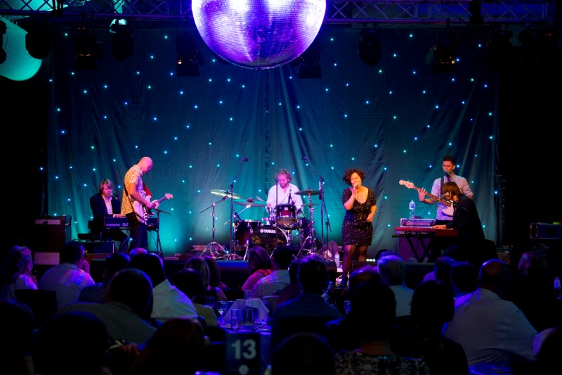 Mahalia Barnes & The Soul Mates perform at CGU Partner Dinner, COBA 2015 Darwin