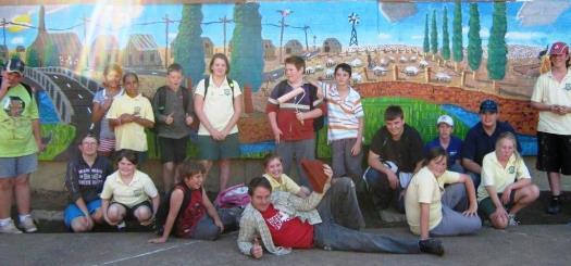 Barnardos Youth Workshops – Murals