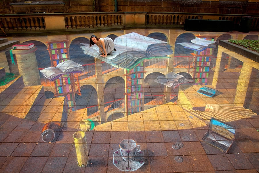 Zest's Top 7 Tips for the perfect 3D Chalk Art Activation