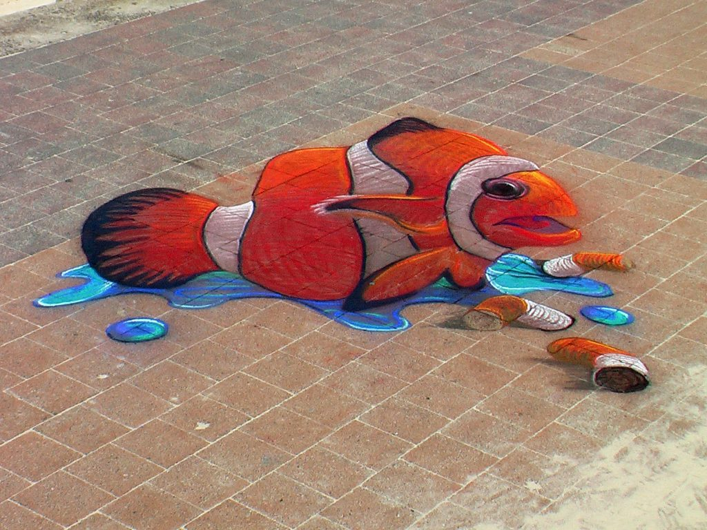 nemo chalk art