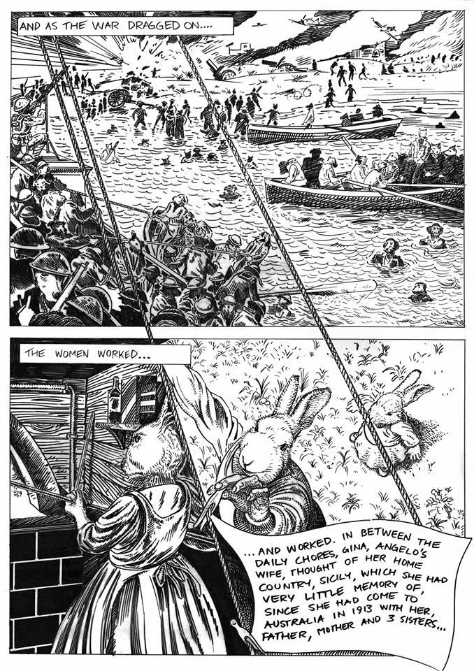 Comic book by Anton Pulvirenti