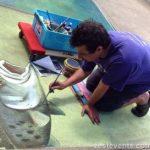 Street painter Anton Pulvirenti Australia