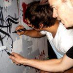Team work - Zest Events Graffiti