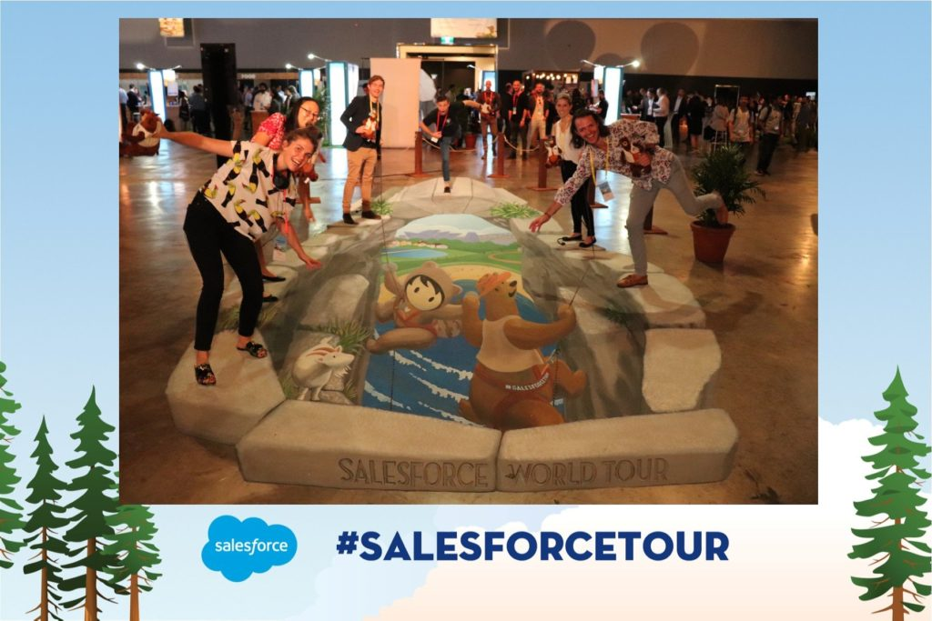 3d hole in the ground salesforce