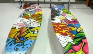 Surfboard / Graff style boardroom and dining tables