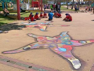 starfish on the Strand, Townsville