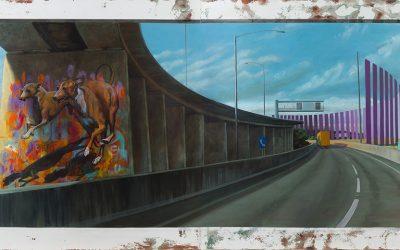 Zest unveils fine art at World Congress