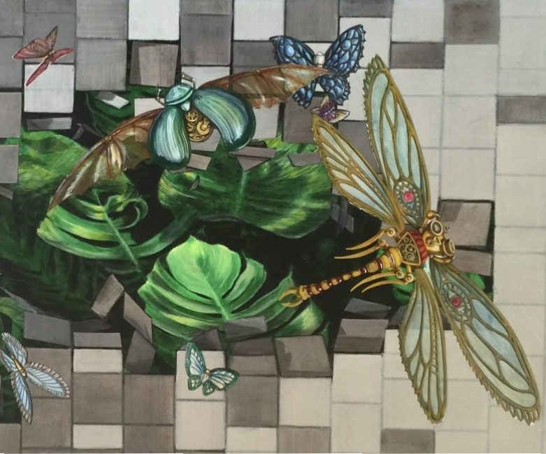 Steampunk Insects emerge from Toowoomba's Grand Central