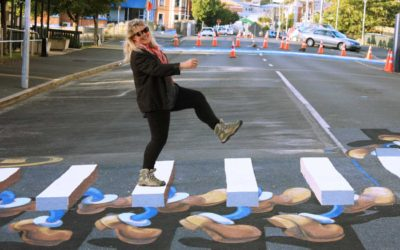 Dunedin 3D pedestrian crossings save lives