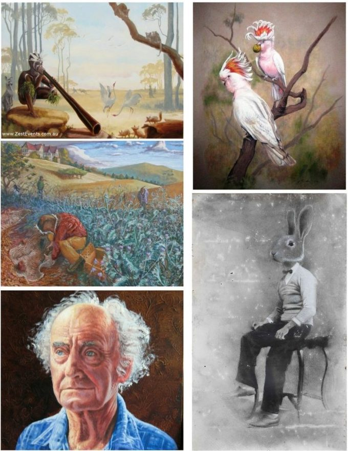 Gallery of Zest Artists works