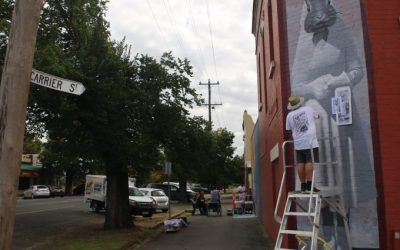 Zest adds colour to 2017 Benalla Wall to Wall Festival