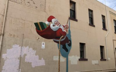 Deck the malls of Ballarat with festive street art