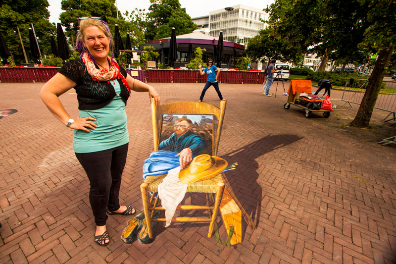 3D Chalk Art 2015 World- Street Painting Festival Jenny McCracken Andi Mether Zestei