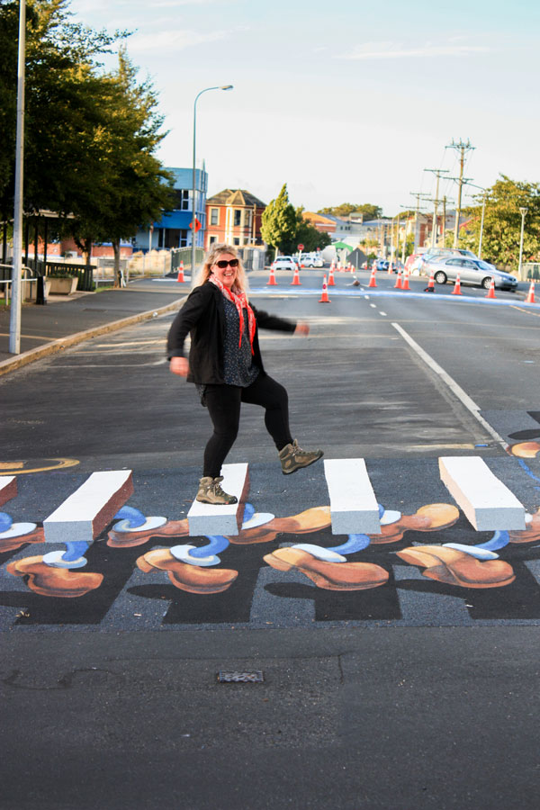 3D Pedestrian Crossing New Zealand Jenn Mccracken Zestei
