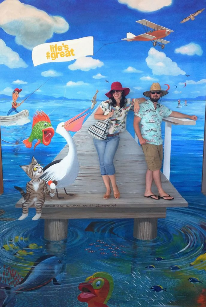 3D Street Art Mingara Lifes Great Couple Posing Anton Pulvirenti Zestei