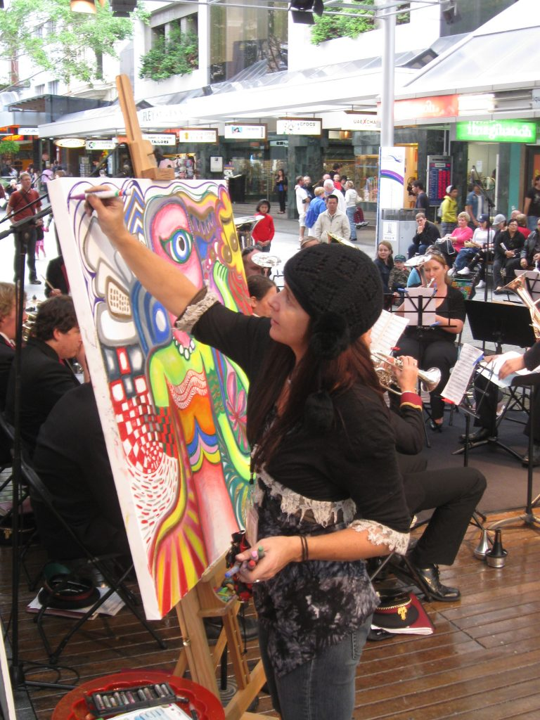Big City Draw Amelia Batchelor Live Art Zest Events International
