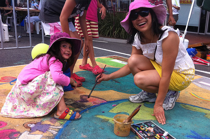 Chalk Art Festival Workshop Zest Events International
