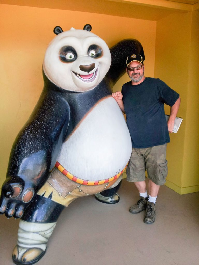 Dom Intelisano Panda Sculpture Zest Events International