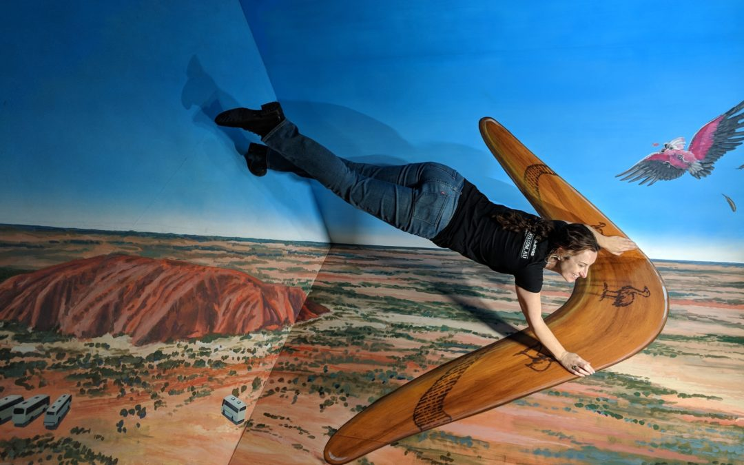 Trick Art! Producing an Interactive 3D Art Gallery