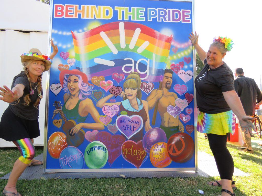 gay pride mural