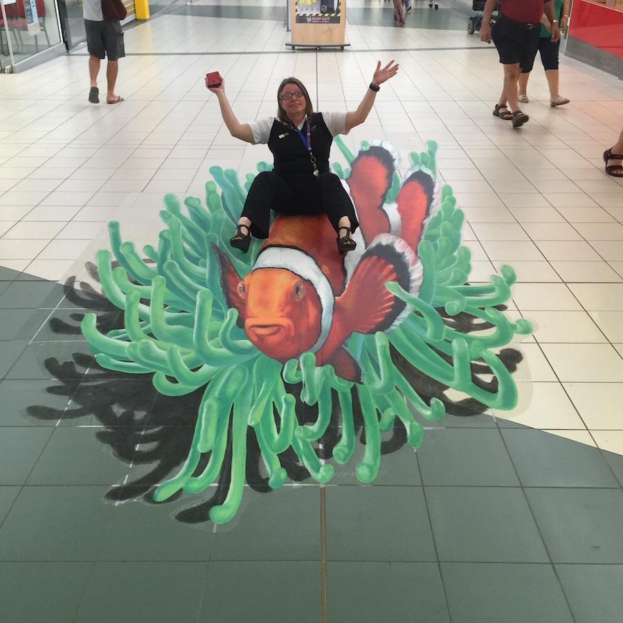 Nemo 3d artwork decal