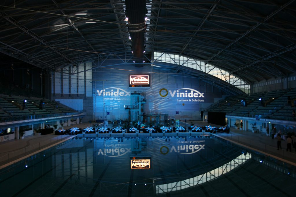 Vinidex gala dinner at Homebush Swim Stadium