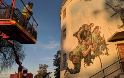 Historical Mural quenches thirst in Gunnedah