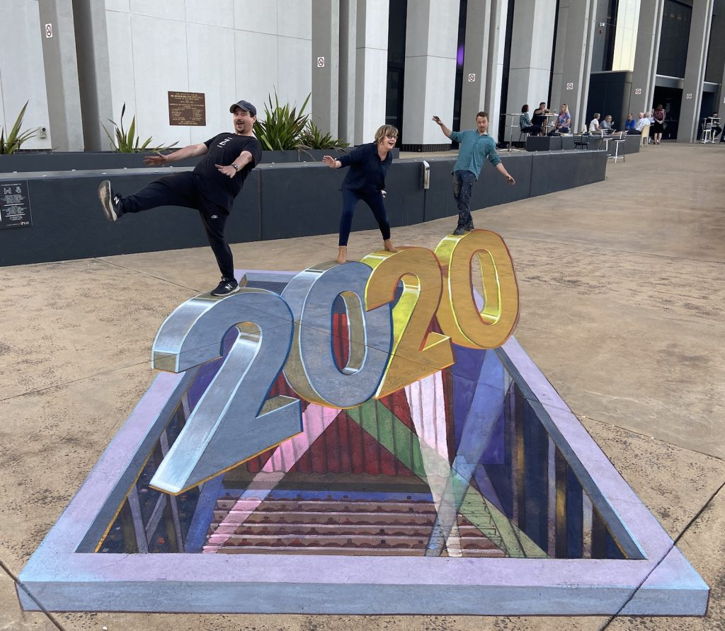 3D Chalk Art Spotlight on 2020 Dubbo Chalk Walk