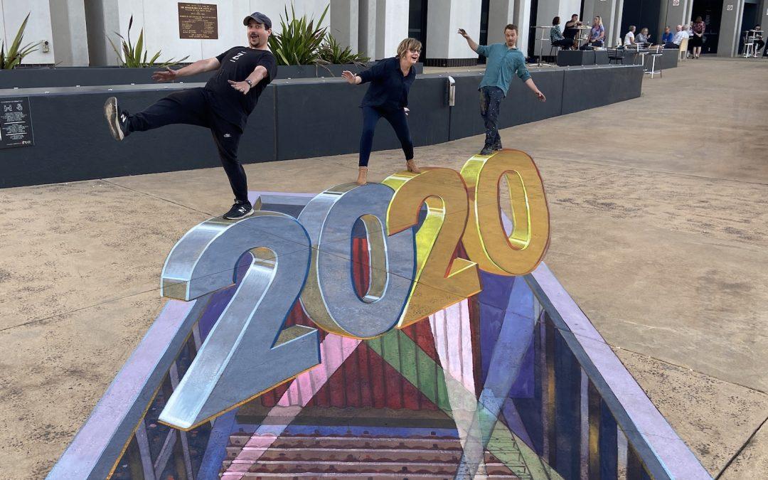 Zest heads West for Dubbo Chalk Walk