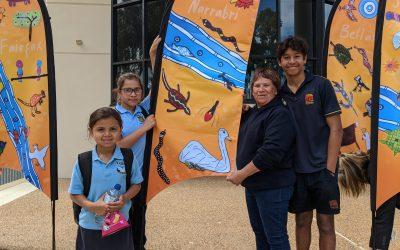 Gamilaroi flag art to fly throughout Narrabri Shire