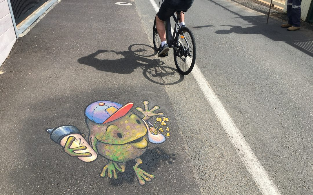 Streets as Shared Spaces – Smile zone created at Umina Beach